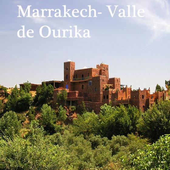 Marrakech al Valle de Ourika