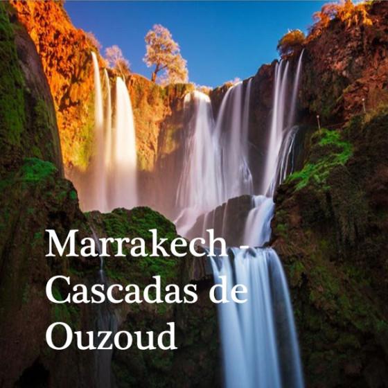 Marrakech -Cascadas de Ouzoud