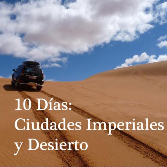 10 Días: Ciudades imperiales y Desierto