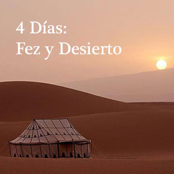 4 Días: Fez y Desierto