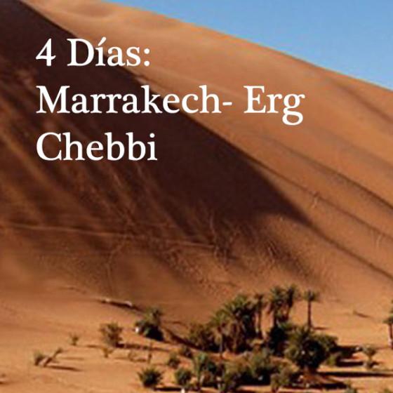 4 Días: Marrakech - Erg Chebbi