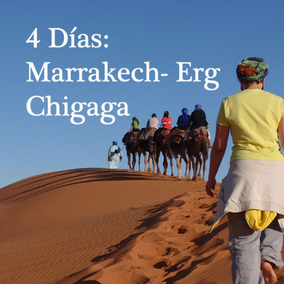 4 Días: Marrakech to Erg Chigaga