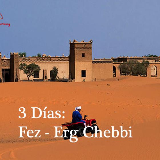 3 Días: Fez - Erg Chebbi
