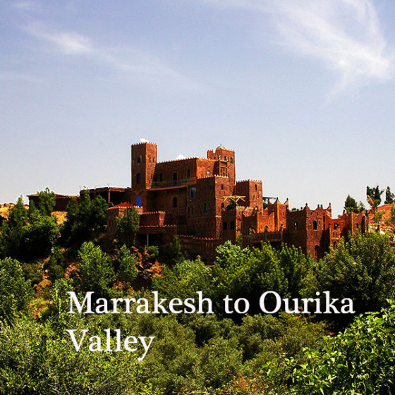 Marrakesh to Ourika Valley