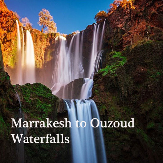 Marrakesh to Ouzoud Waterfalls