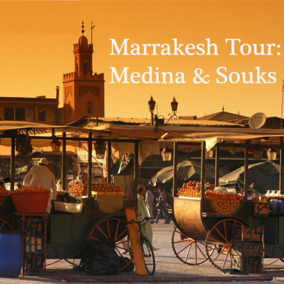 Marrakesh Tour: Medina & Souks