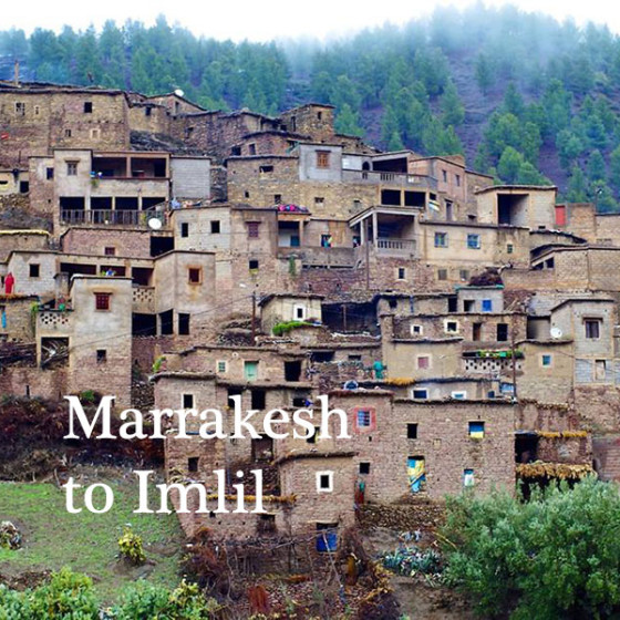 Marrakesh to Imlil
