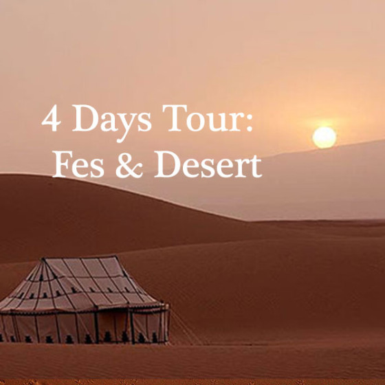 4 Days Tour: Fes & Desert