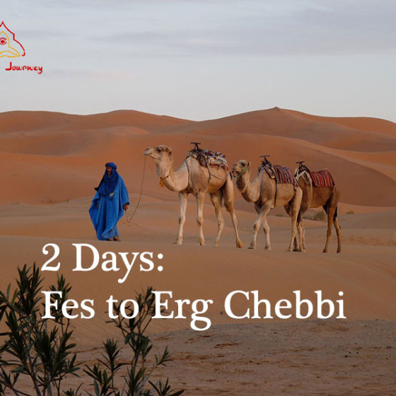 2 Days Camel Trekking: Fes to Erg Chebbi