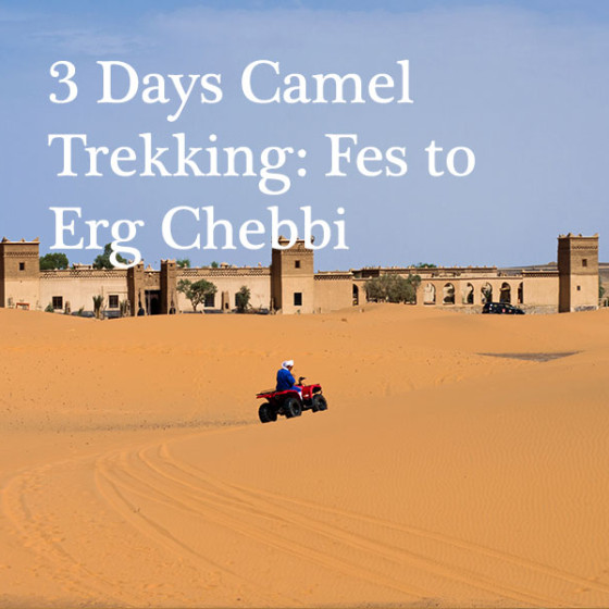 3 Days Camel Trekking: Fes to Erg Chebbi